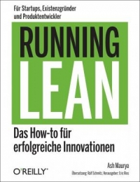 Buchcover Running Lean