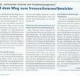 Auf dem Weg zum Innovationsweltmeister – Pressestimmen zum Vortrag